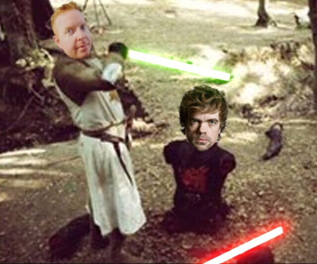 Dave and Dinklage lightsabers.jpeg