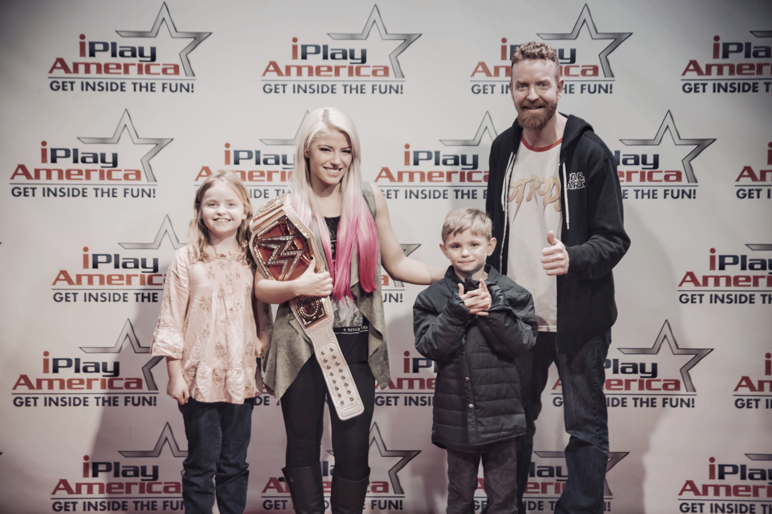 The Mac Foundation with WWE Superstar Alexa Bliss