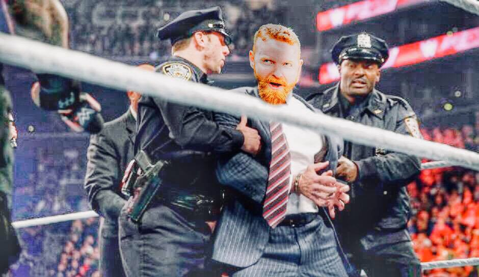 Dave arrested on RAW.jpg