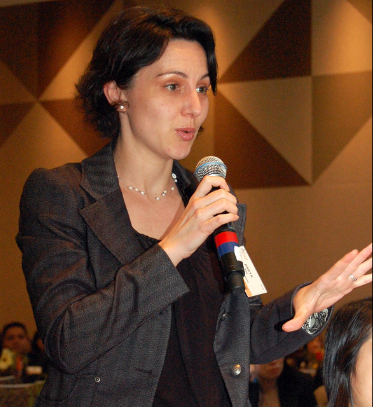 Aneta Key speaking