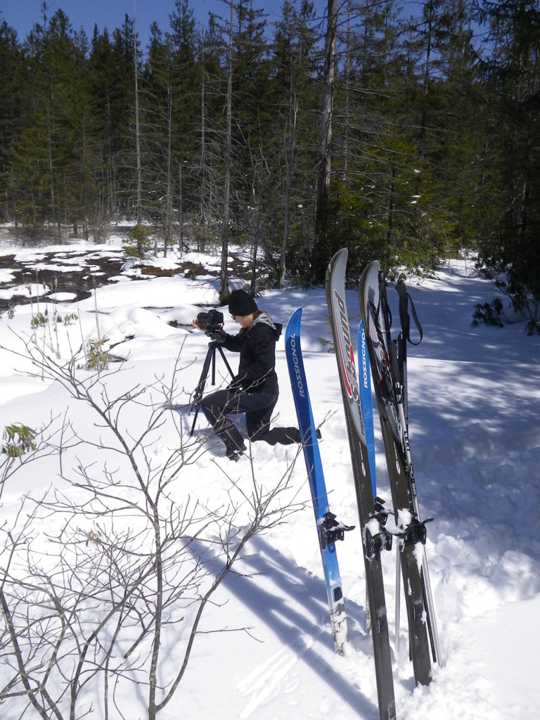 Ski to location - why not?
