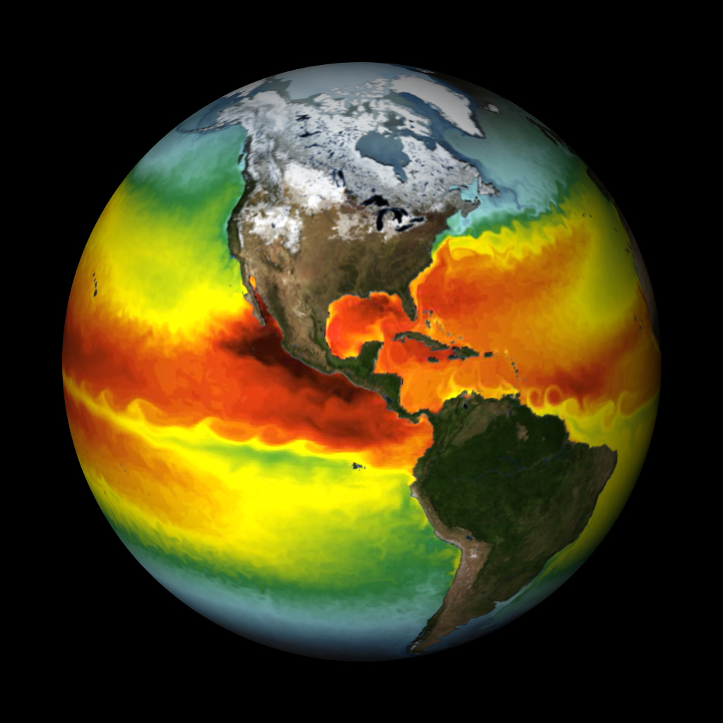 Sea Surface Temperature - GFDL Model - NOAA