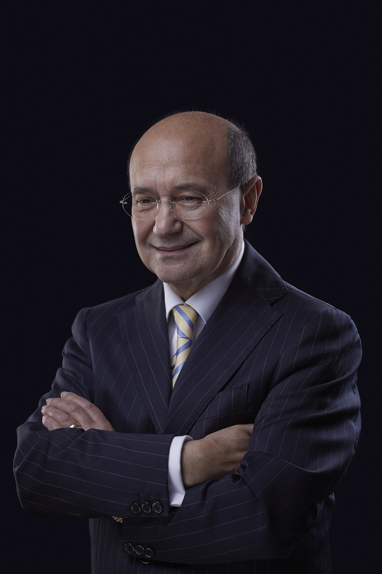 Toni Mascolo of TONI&GUY - Photographed for Toni at his house in Surrey.