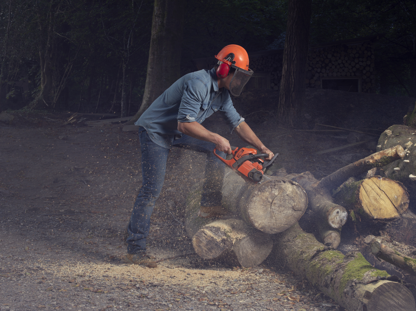 I was one of five European photographers to be picked to shoot a series for the latest 'Live In Levi's' online campaign. We spent two days with Tom Raffield who creates handcrafted wooden lighting and designer furniture from his woodland workshops in Cornwall.Here's more on Tom - http://www.tomraffield.com