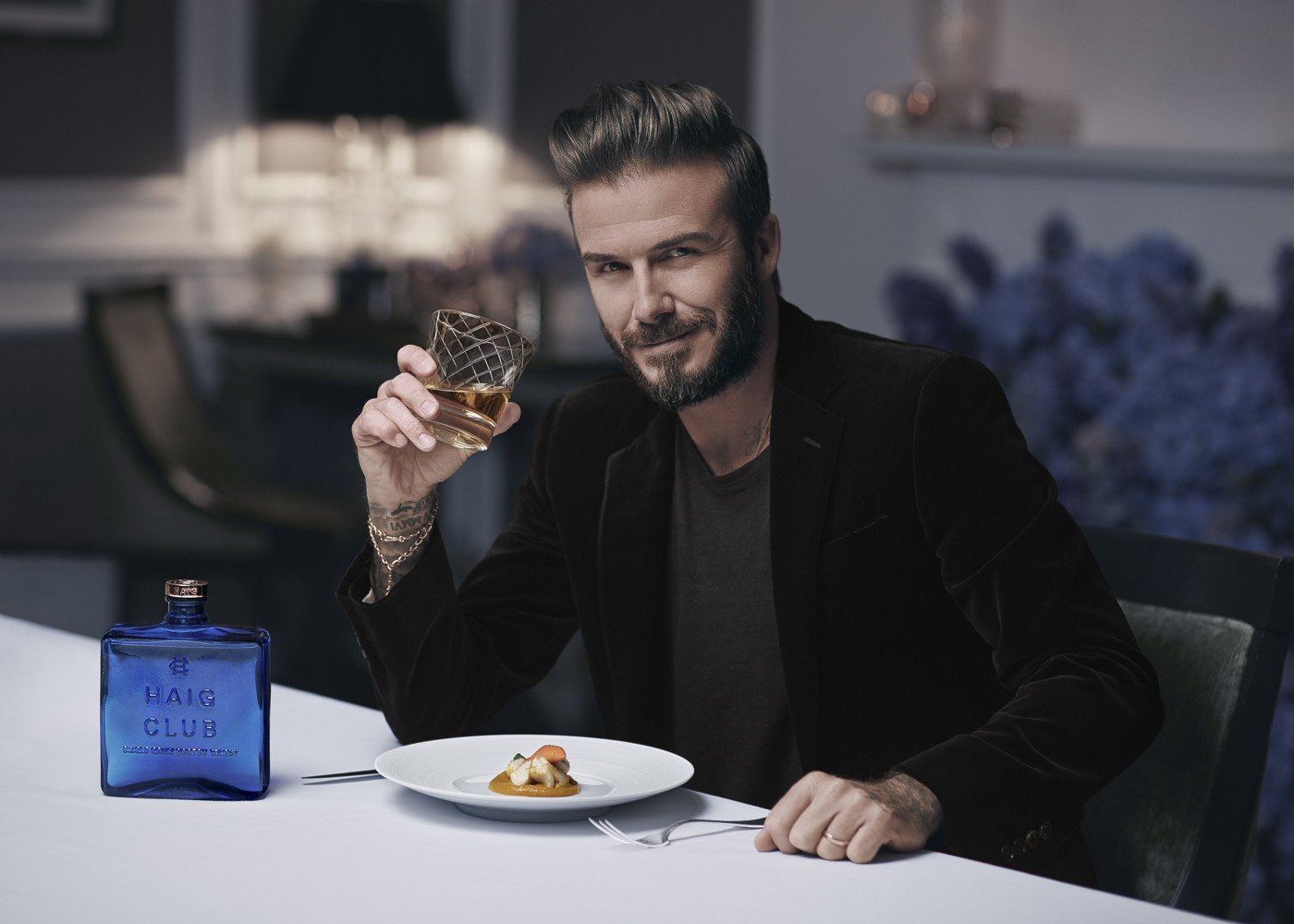 I recently photographedDavid Beckham for the launch ofHaig ClubLondon