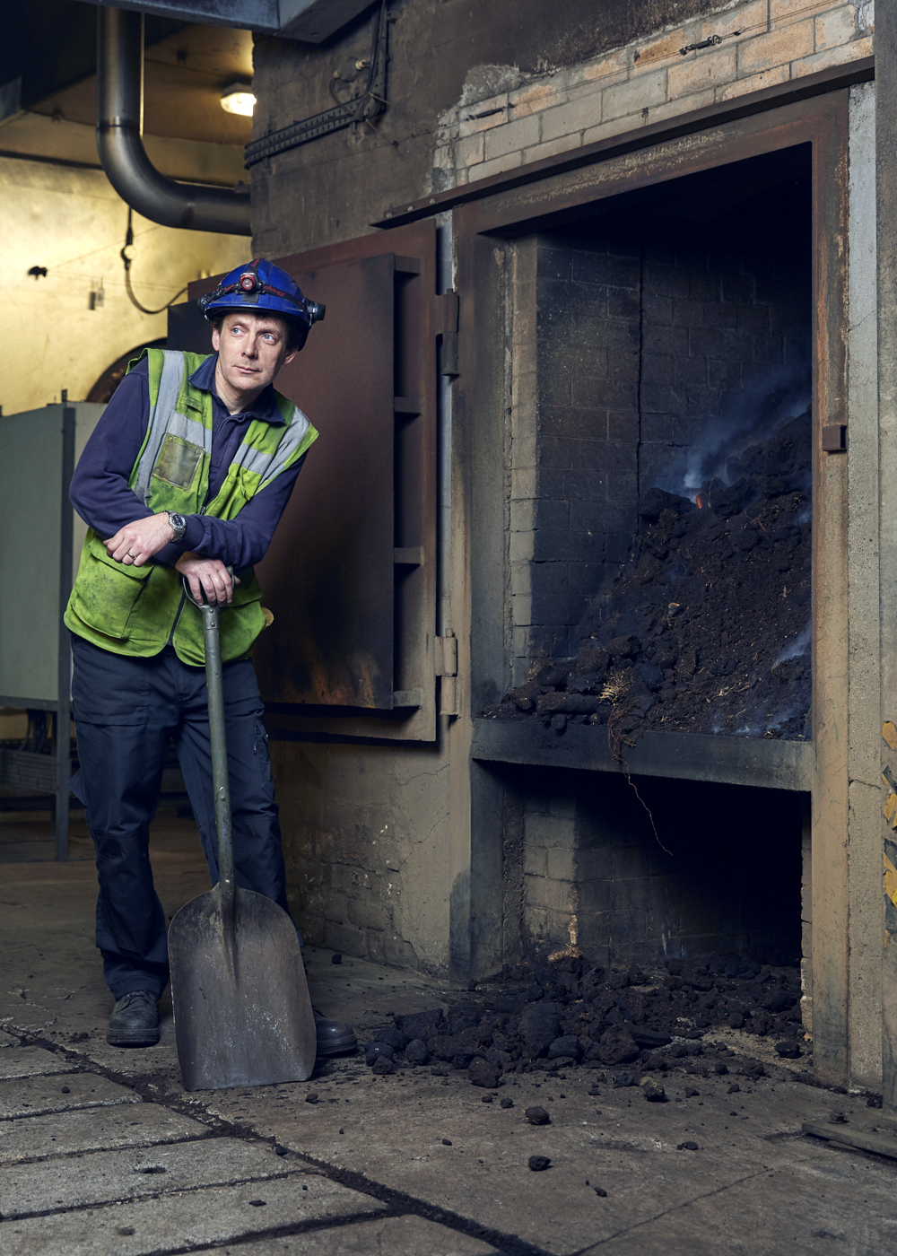 Peat is burnt in an open furnace to produce the flavour that's prominent in Islay Malt Whisky.