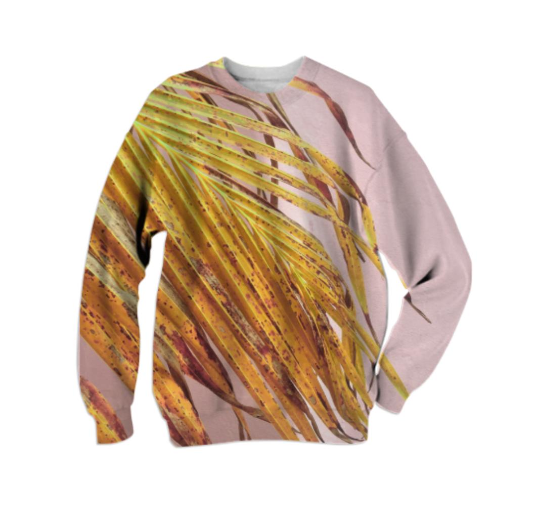 PALMY II SWEATSHIRT    Cotton Sweatshirt      Sixty Eight Dollars