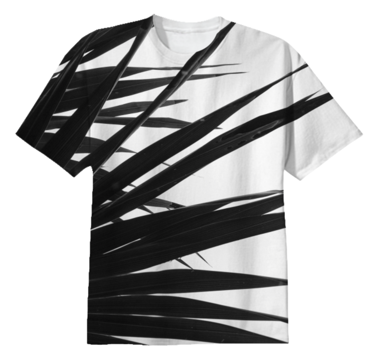 BW PALMY TEE    Totally All Cotton      Thirty Eight Dollars