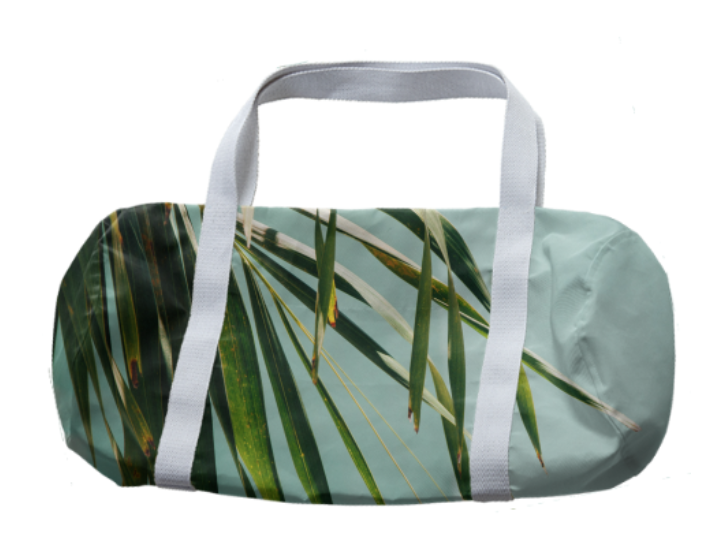 ANOTHER PALMY DUFFEL    Cotton Duffle      Fifty Two Dollars