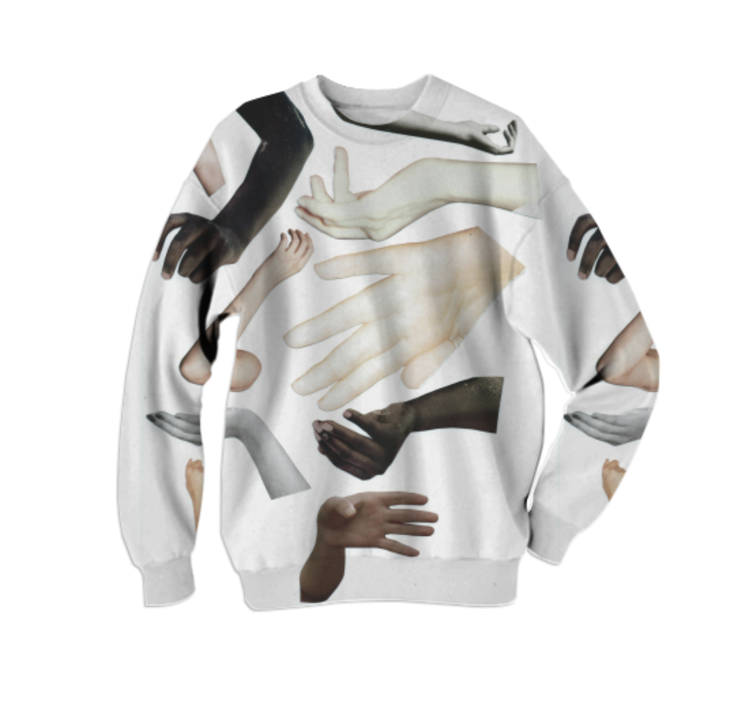 HANDY SWEATSHIRT    Cotton Sweatshirt      Sixty Eight Dollars