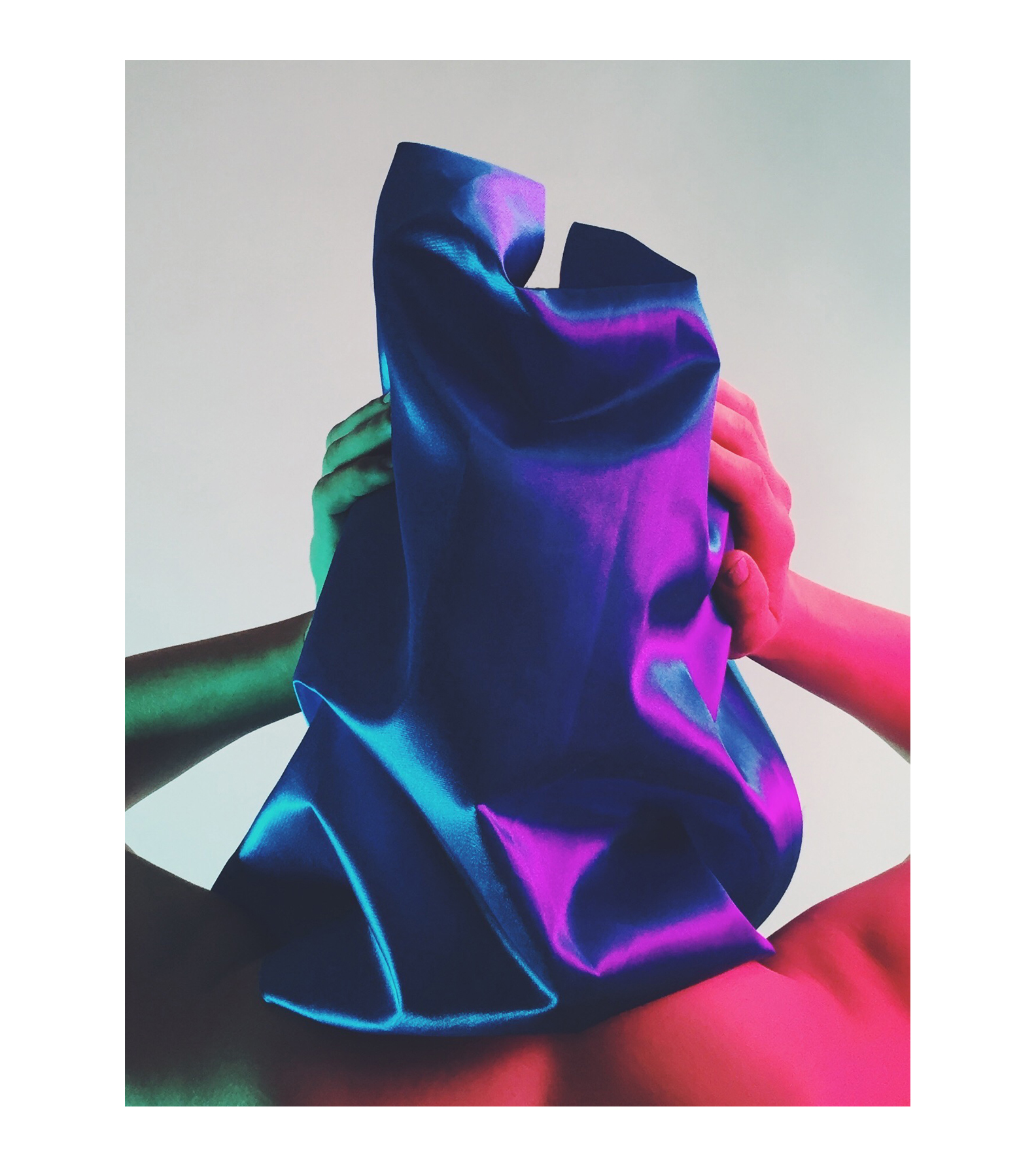 Editorial art direction + headwear design photographer Audrey Amelie