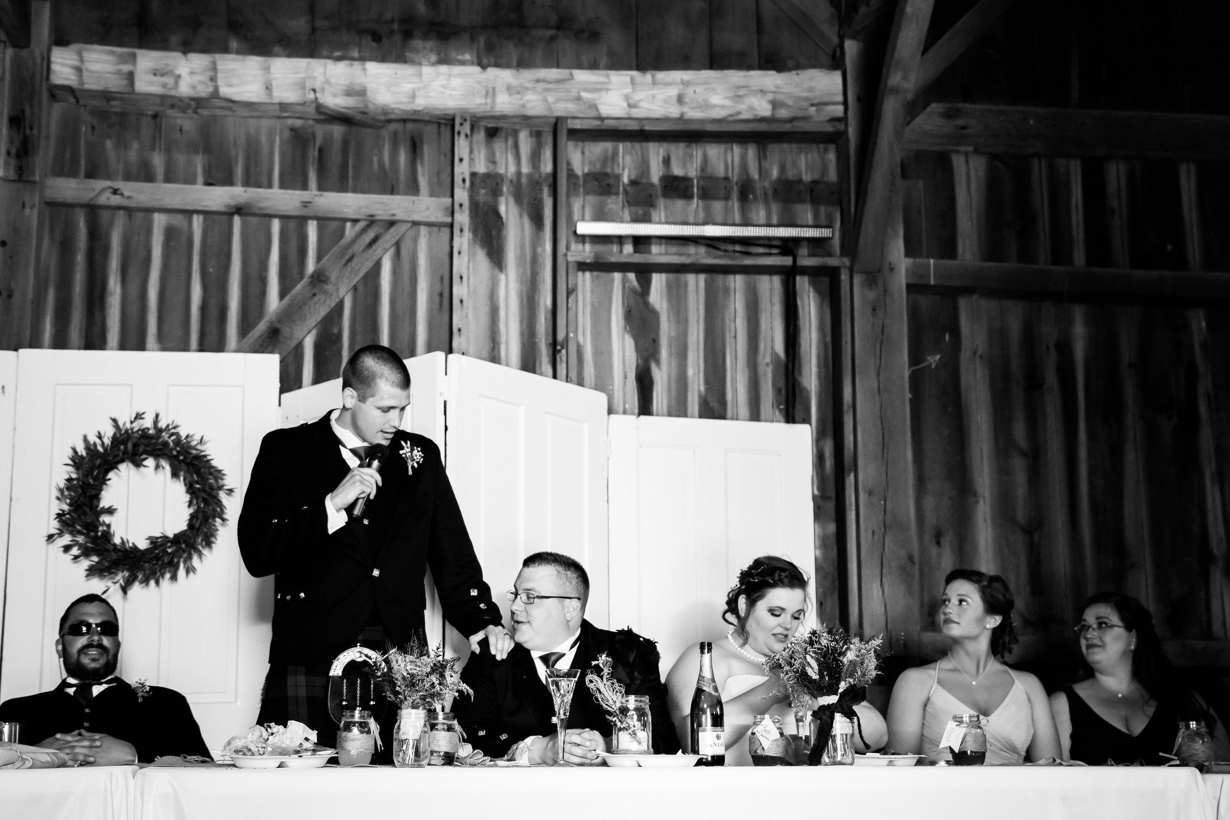 Wea Creek Orchard Wedding Photos - Zachariah