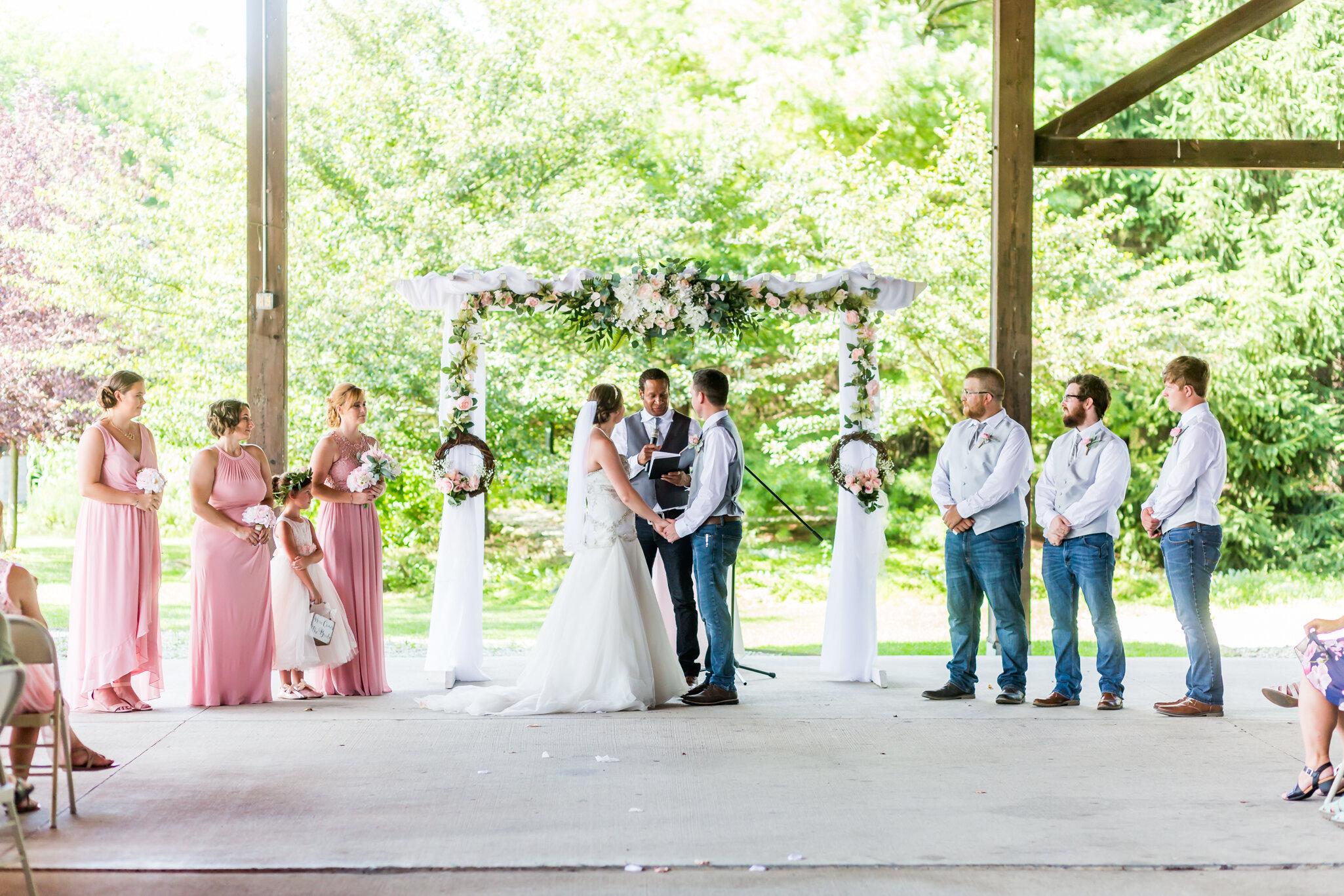 New Castle Arts Park Wedding Photography - S8298.JPG