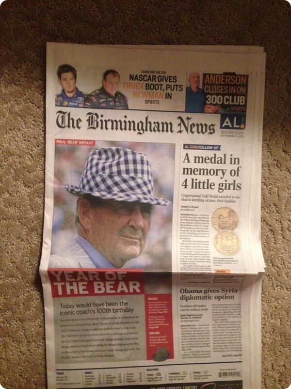 Birmingham News - Front Page