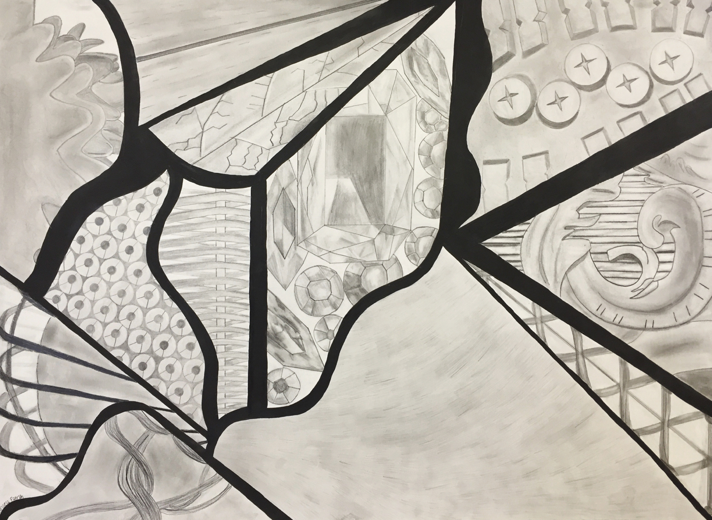 Texture Drawing from Macro Photos