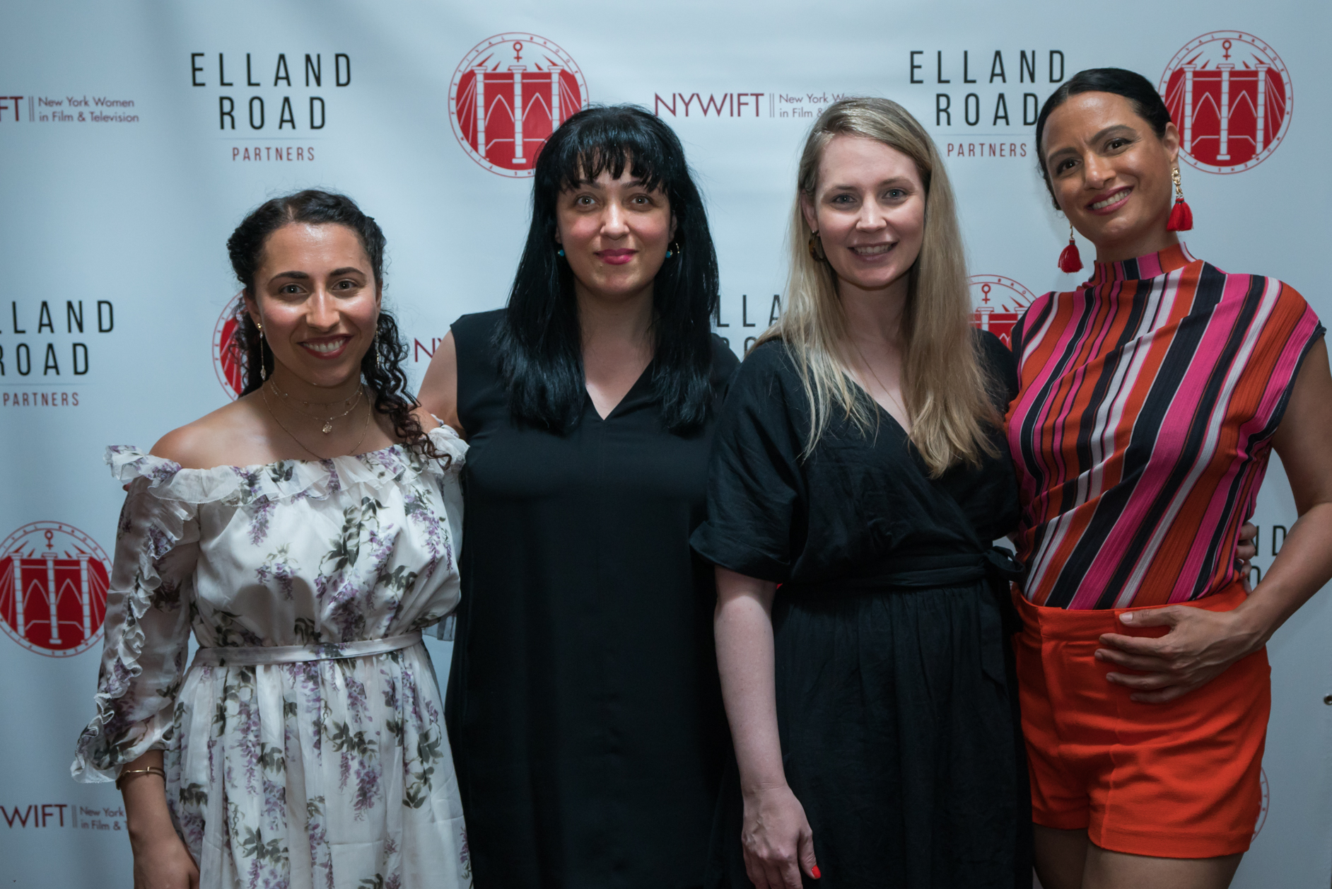 BWFF 2018 with HANNAH ROZE, STAVROULA TOSKA & LUCIA GRILLO of FILM FATALES