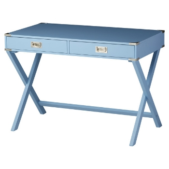 This periwinkle blue is stunning and there's 8 other colors to choose from!  Willis Writing Desk / Joss & Main / $218