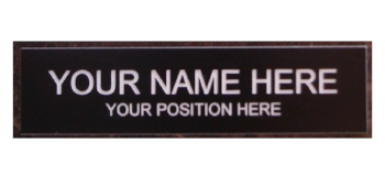 Let your sass run wild  Office Desk Name Plate or Door Sign / Amazon /$6
