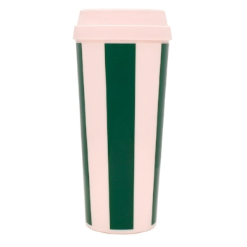 On that note... not an organization item but pretty essential. From Band.do again!  Hot Stuff Thermal Mug - Beverly Stripe / Band.do / $14
