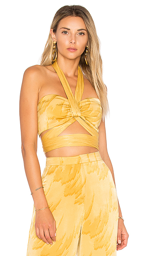 Nicole Richie has done it again - a splurge but this is divineee  X REVOLVE TAMMY TOP House of Harlow 1960 / REVOLVE / $118