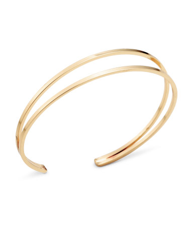 I'm never drawn to bracelets but I'd rock this every day  Bangle Bracelet / $6 / H&M