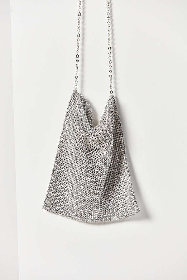 Shine bright darlings :*  Frasier Sterling After Party Chain Link Crossbody Bag / Urban Outfitters. / $97