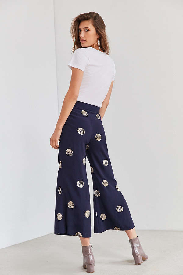 Wearable anddd celestial   Silence + Noise Extreme Kick Flare Pant / Urban Outfitters / $49