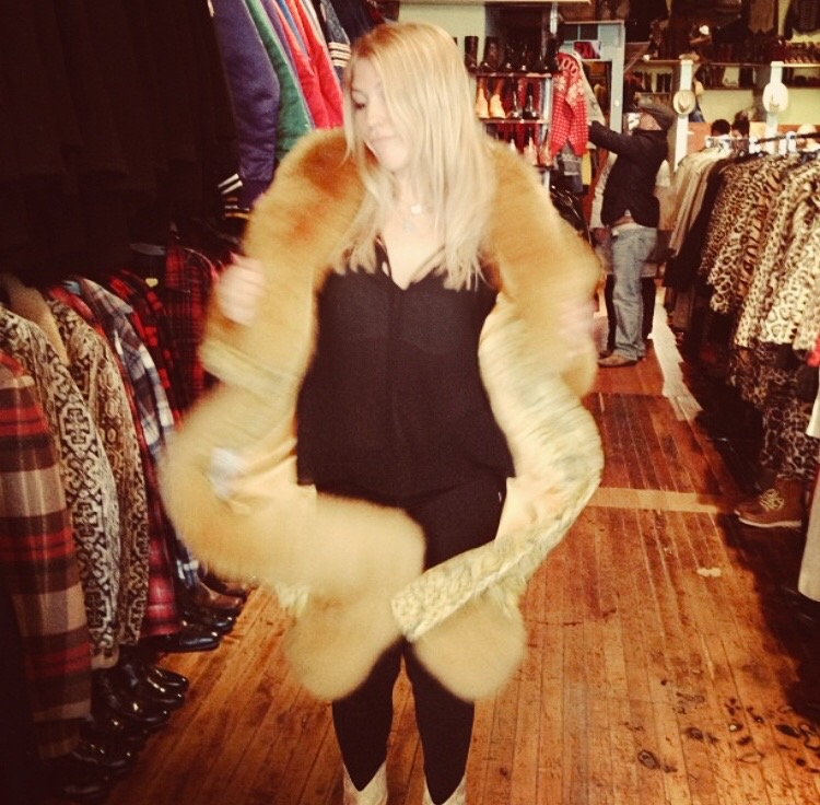 Vintage Shopping in Chicago in 2013 during the Mackelmore era