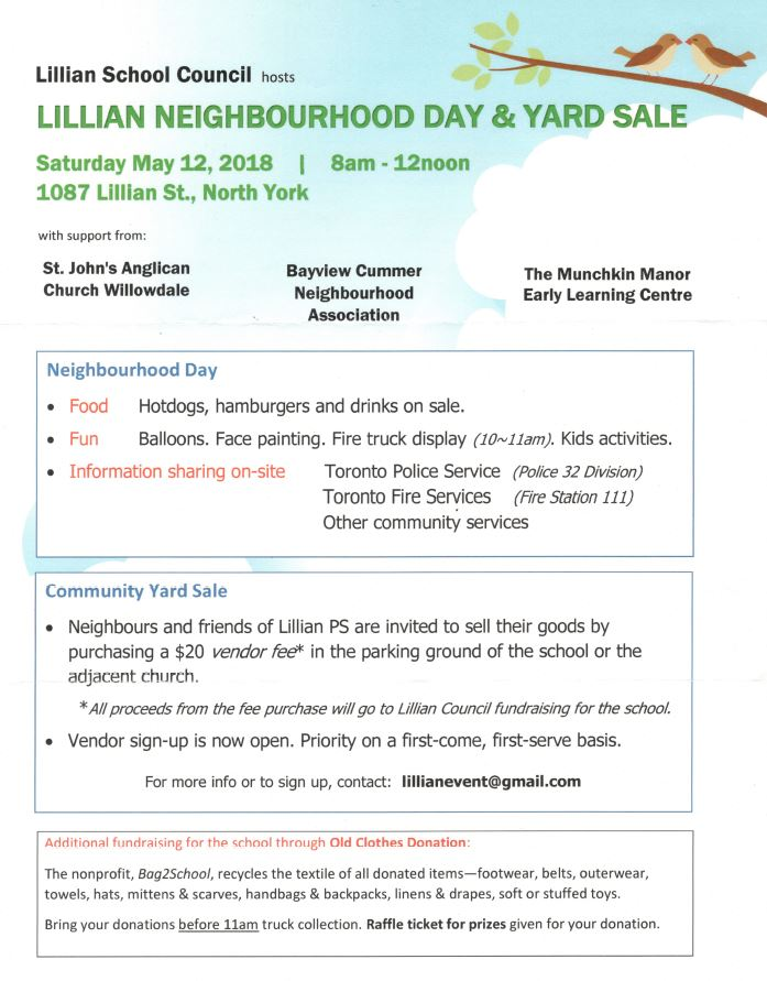 2018 - Lillian Neighbourhood Yard Sale.JPG