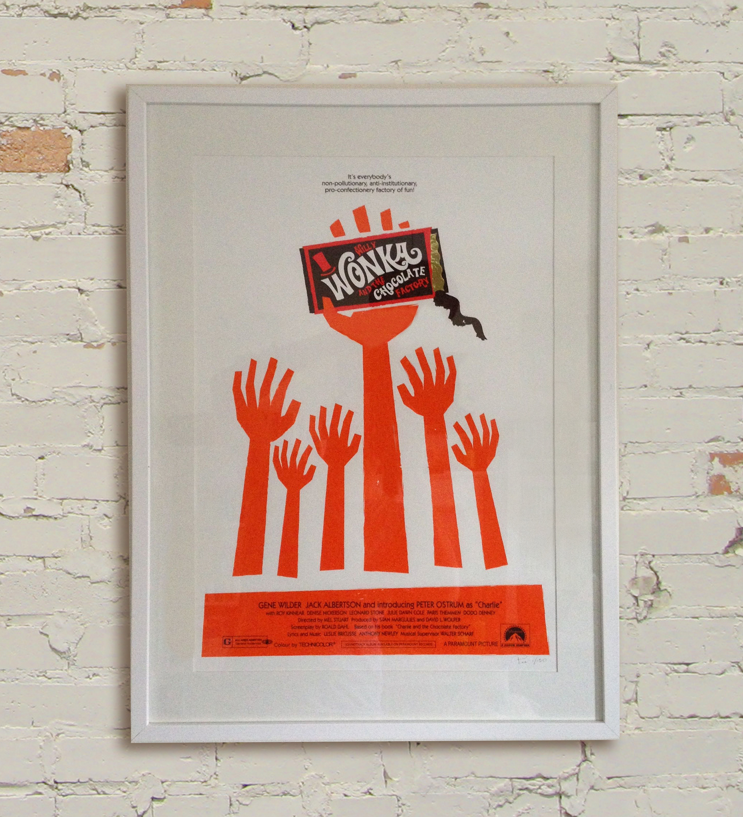 WONKA  by Pan   - SIGNED AND NUMBERED   - LIMITED TO 150