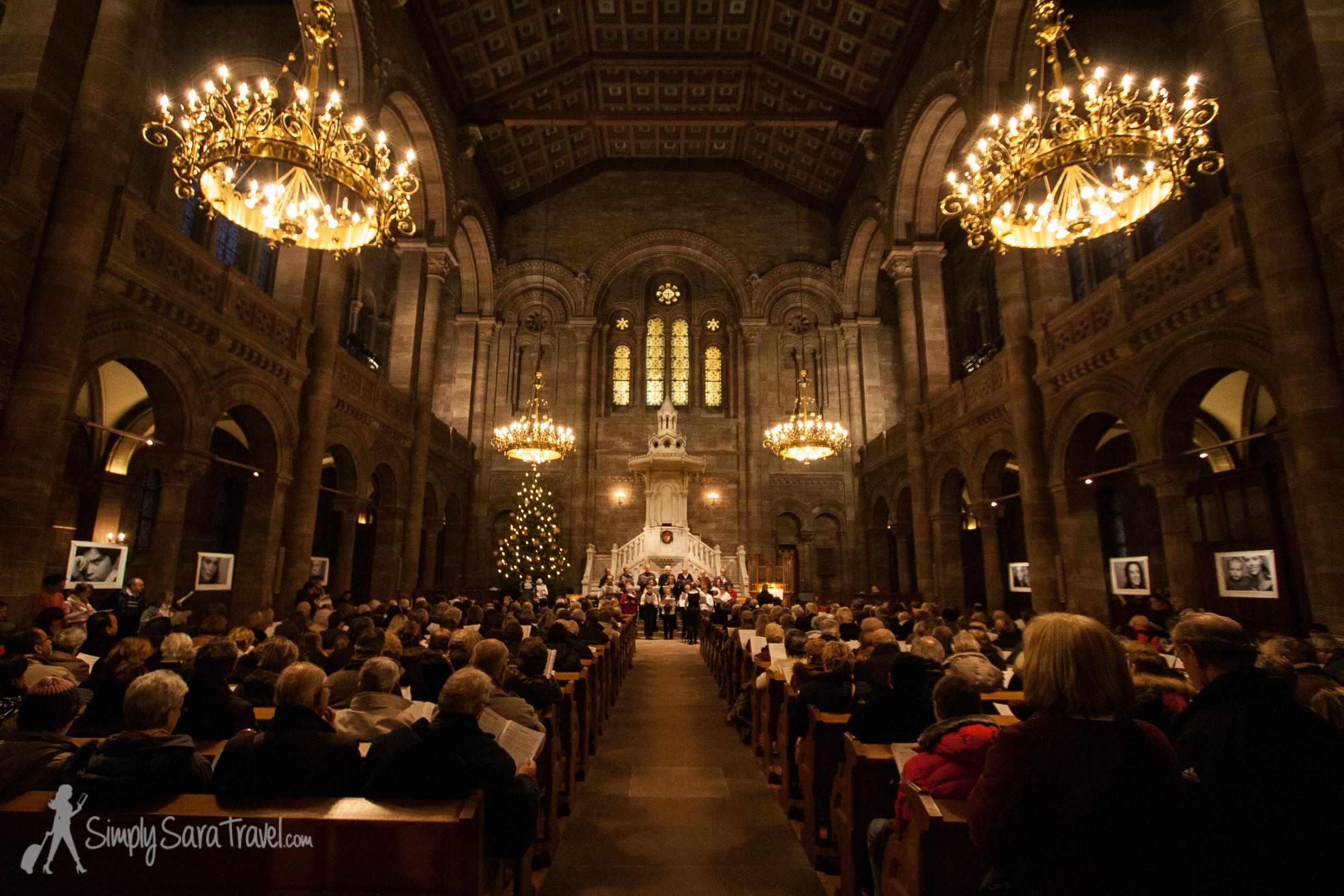 Inside the Eglise du Temple Neuf