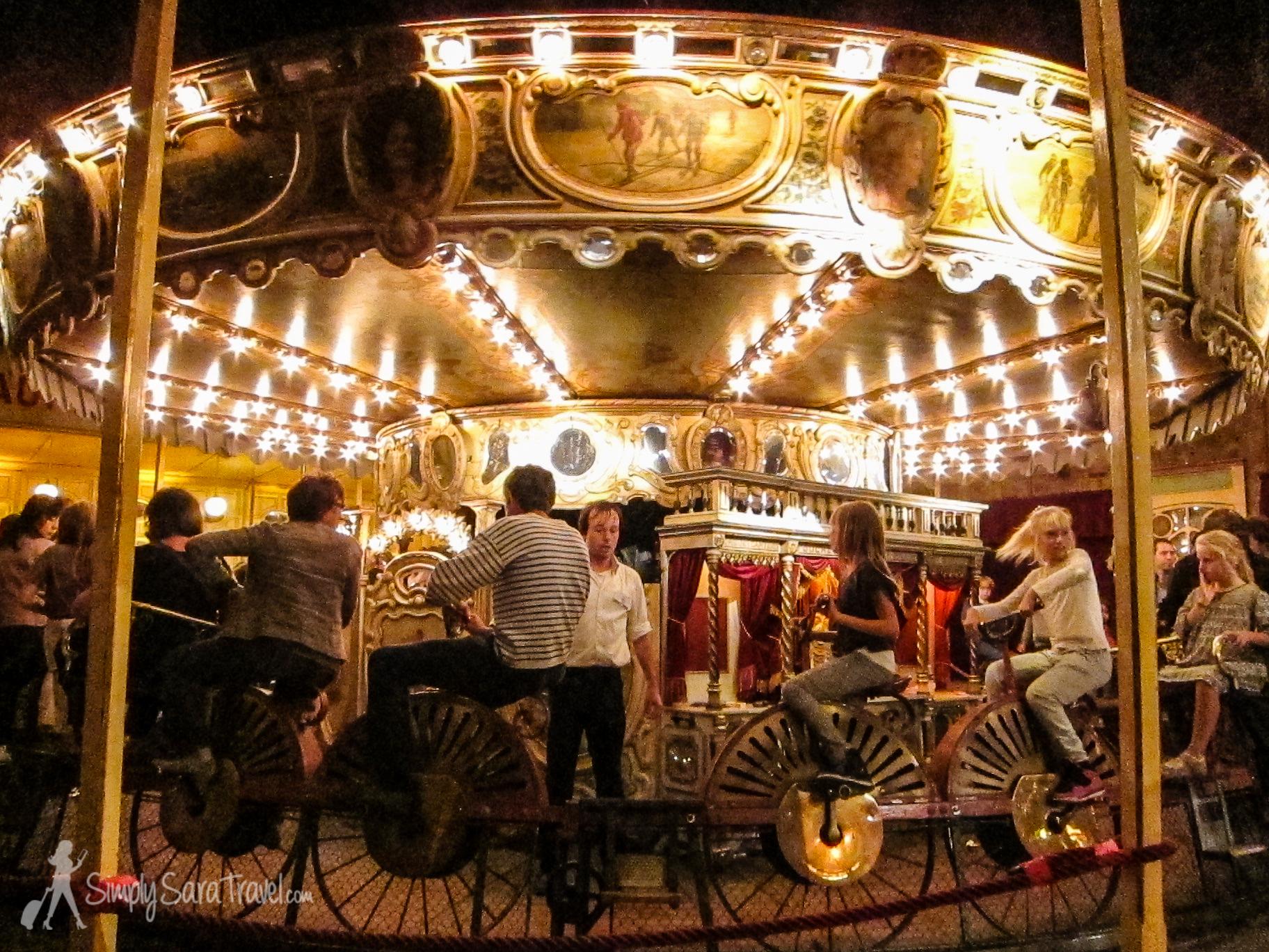 A crowd favorite, the velocipede