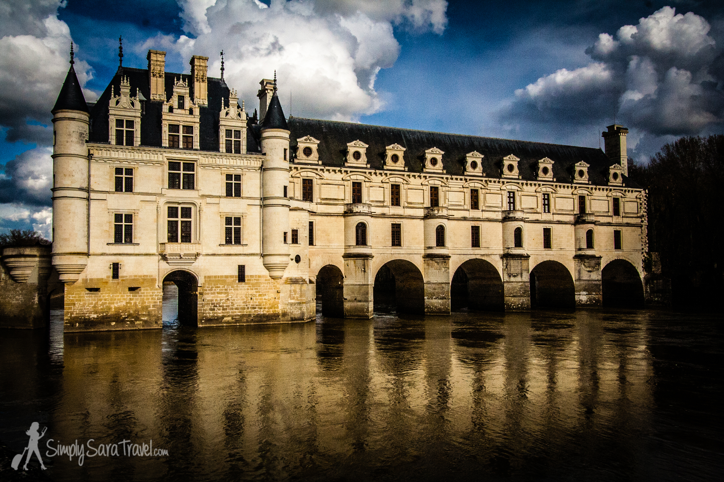 We stopped by Château de Chenonceau on the drive back from Bordeaux to Paris just long enough to capture a few pictures of the most beautiful château in the Loire in my opinion. (March 2013)
