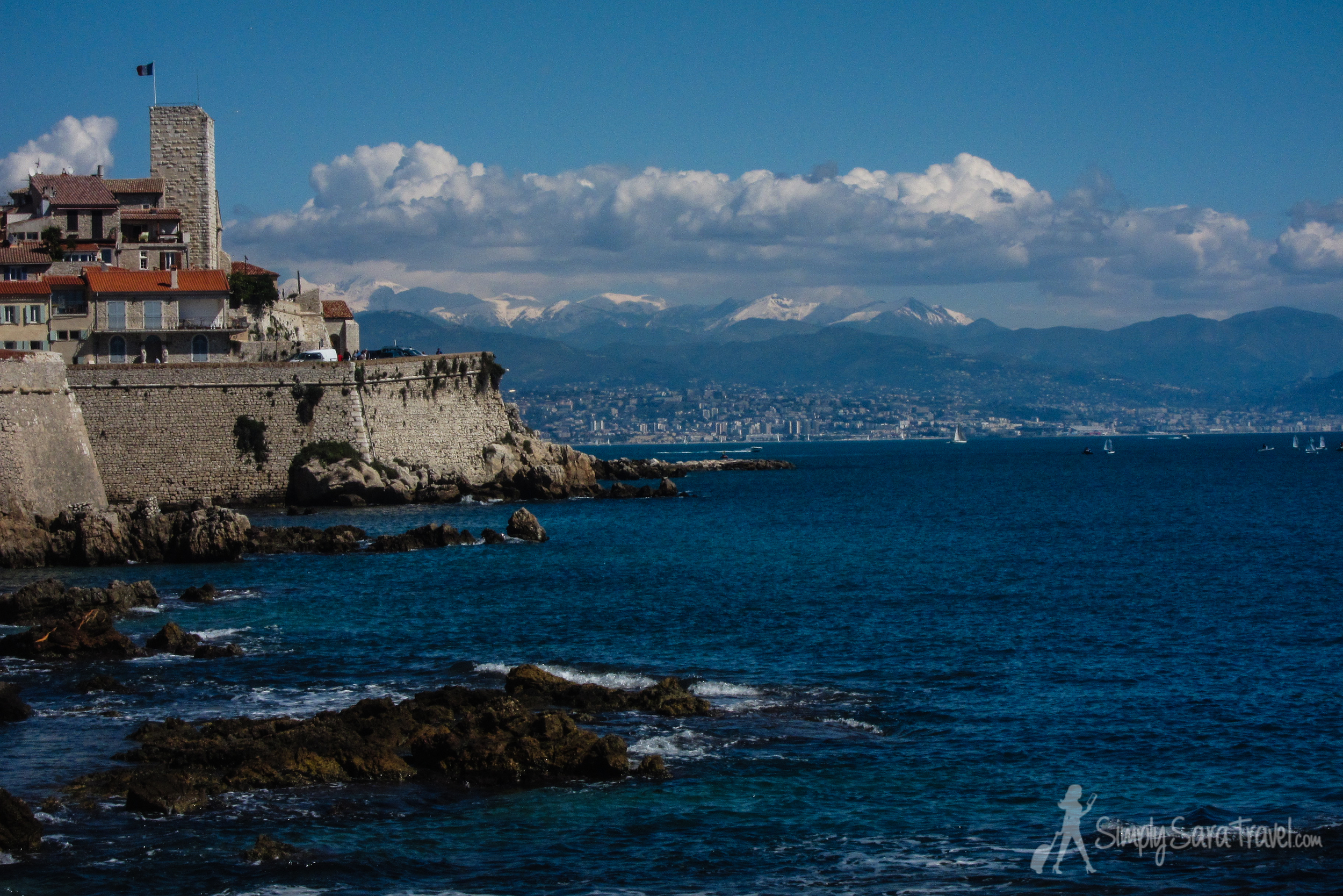 View of the Fort Carré  in my favorite town in the French Riviera,Antibes (April 2013)