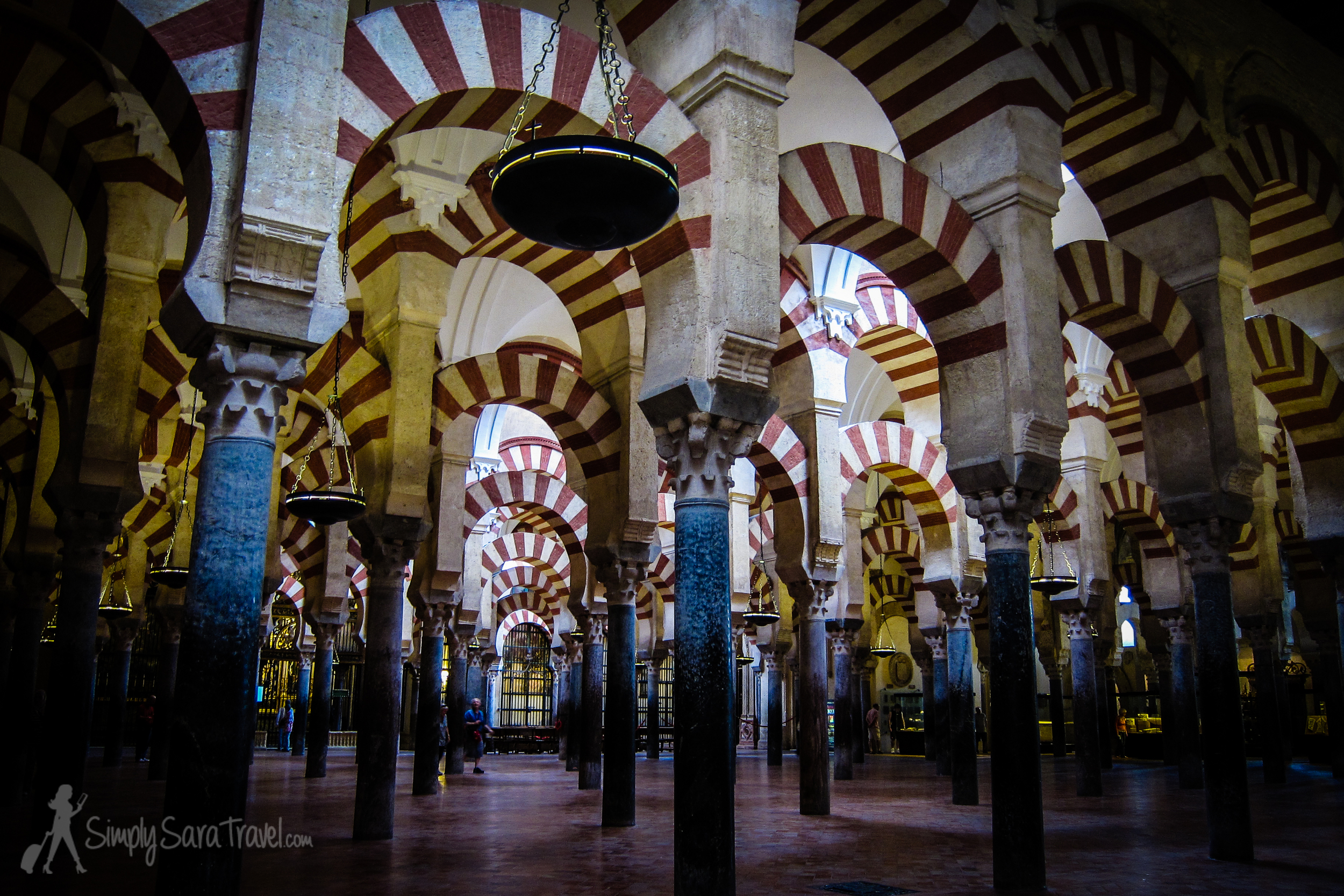 The fascinating Mosque–Cathedral of Córdoba (popularly calledMezquita)(June 2013)
