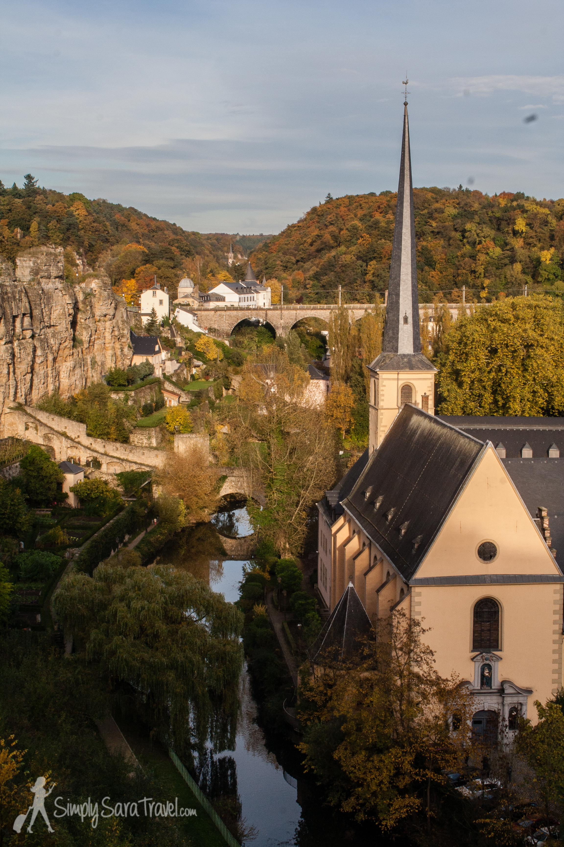 Luxembourg City in autumn (October 2013)