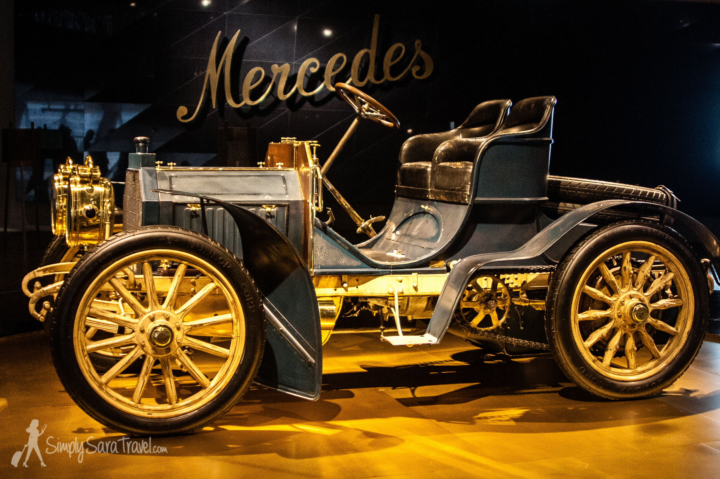 Wondering where the name Mercedes came from when the last names of the inventors where Benz and Daimler? A business man namedEmil Jellinek became involved selling and marketing Daimler cars and the name of his daughter, Mercedes, was eventually adopted for the brand. (You can read more on the story at  daimler.com .)