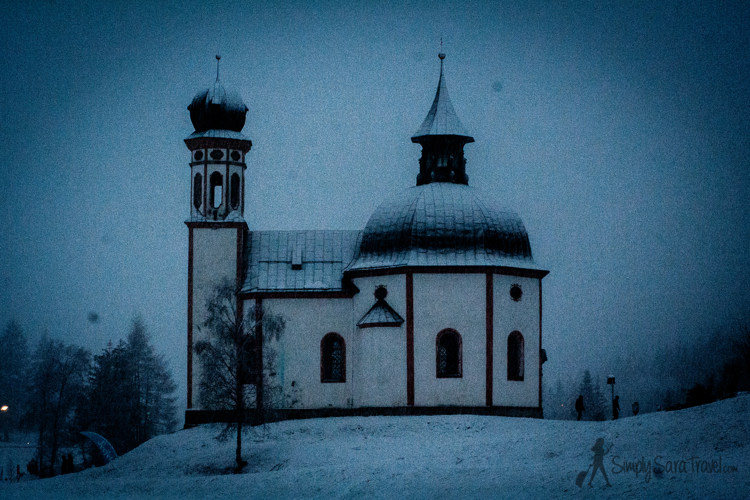 As if Seefeld wasn't beautiful enough, the snowfall on the last night made it all the more magical. (December 2013)
