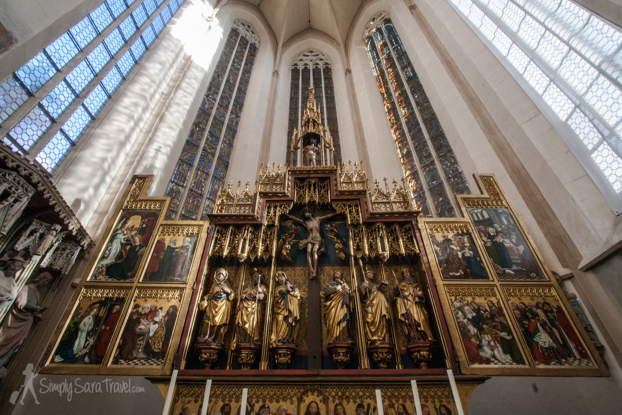 The high alter by Friedrich Herlin (1466)