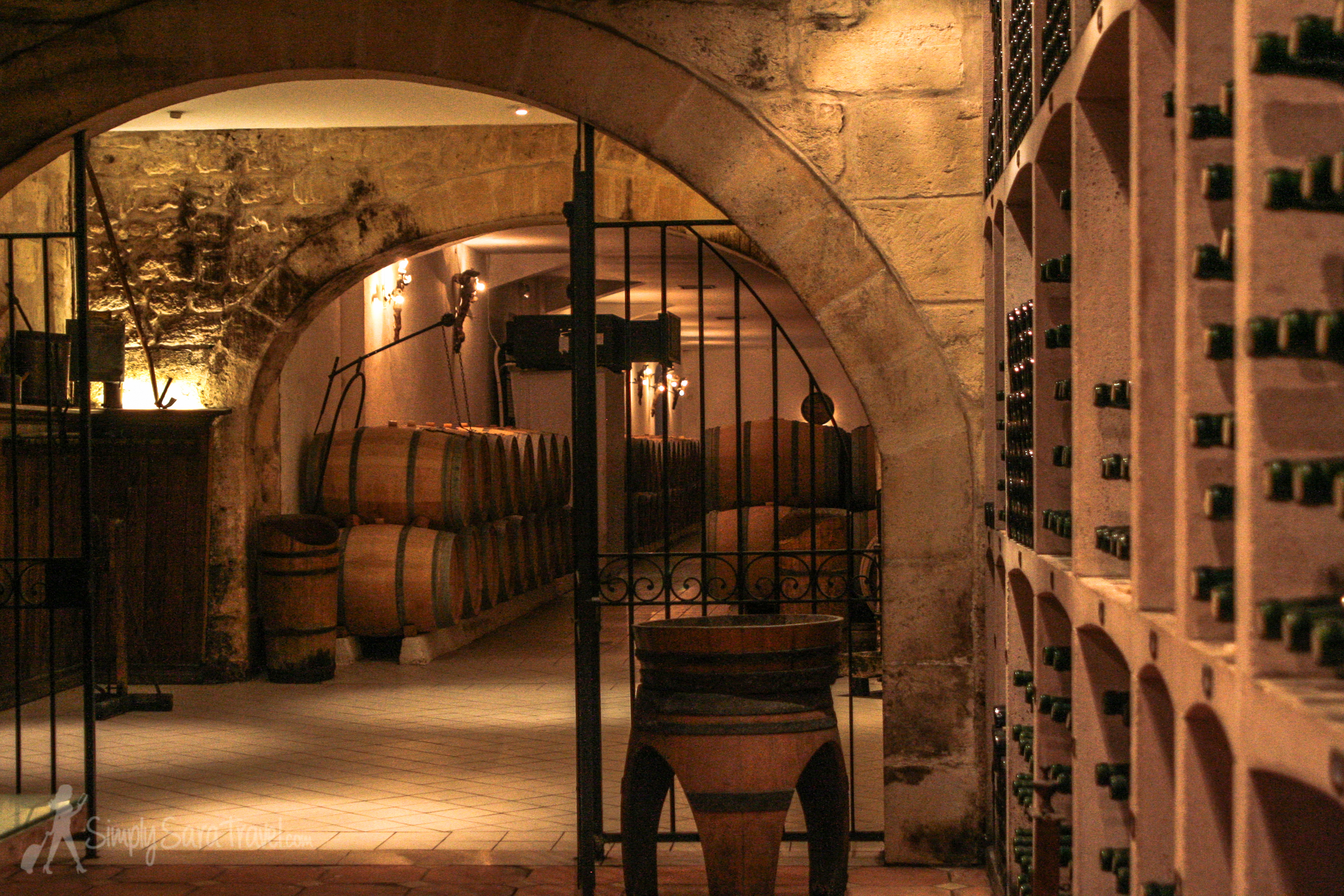 Down in the cellars