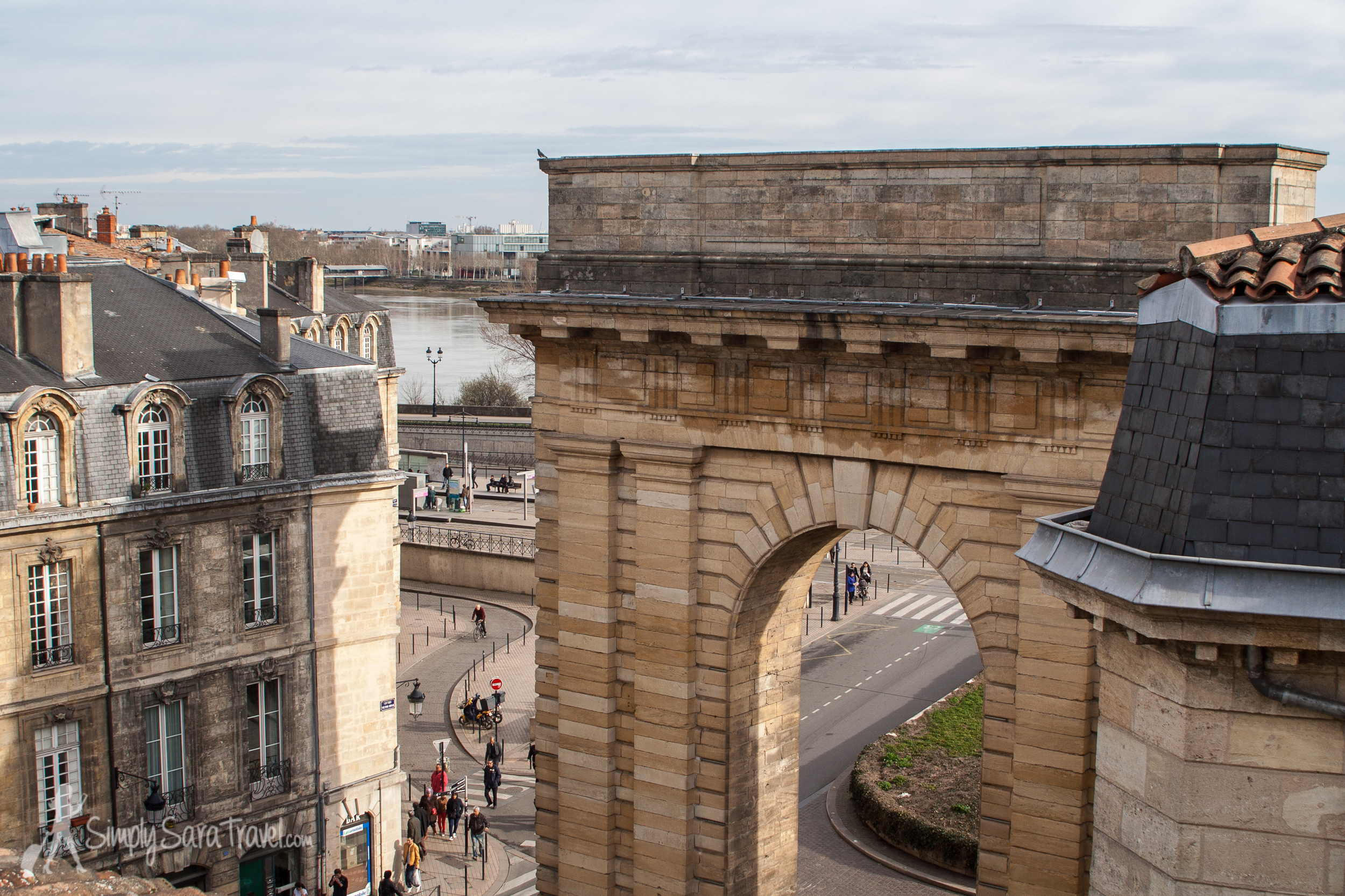 The view from the  Bordeaux Terrace , a great home-base that sleeps 4
