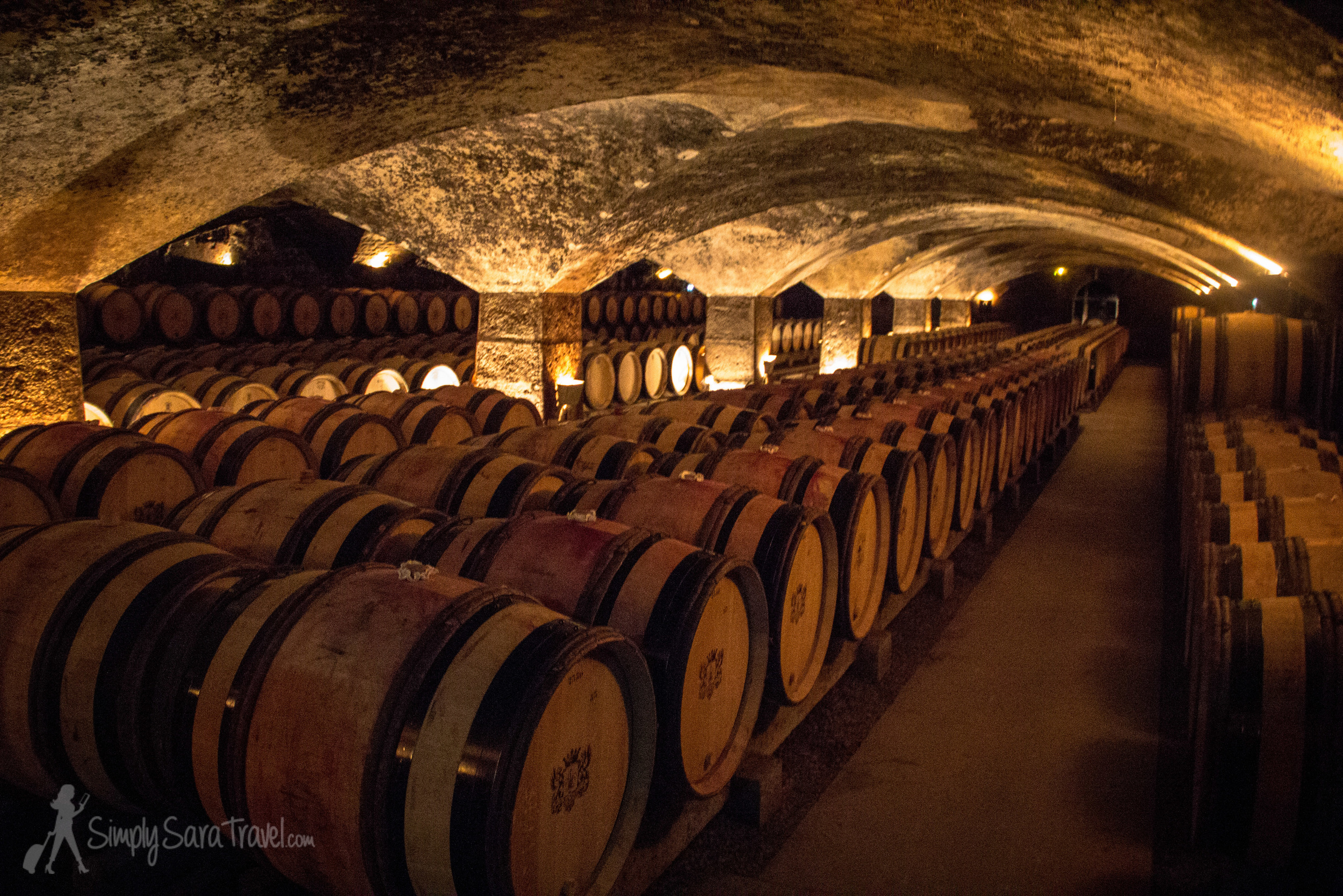 Then we entered this cave, said to be the most beautiful in Bourgogne.