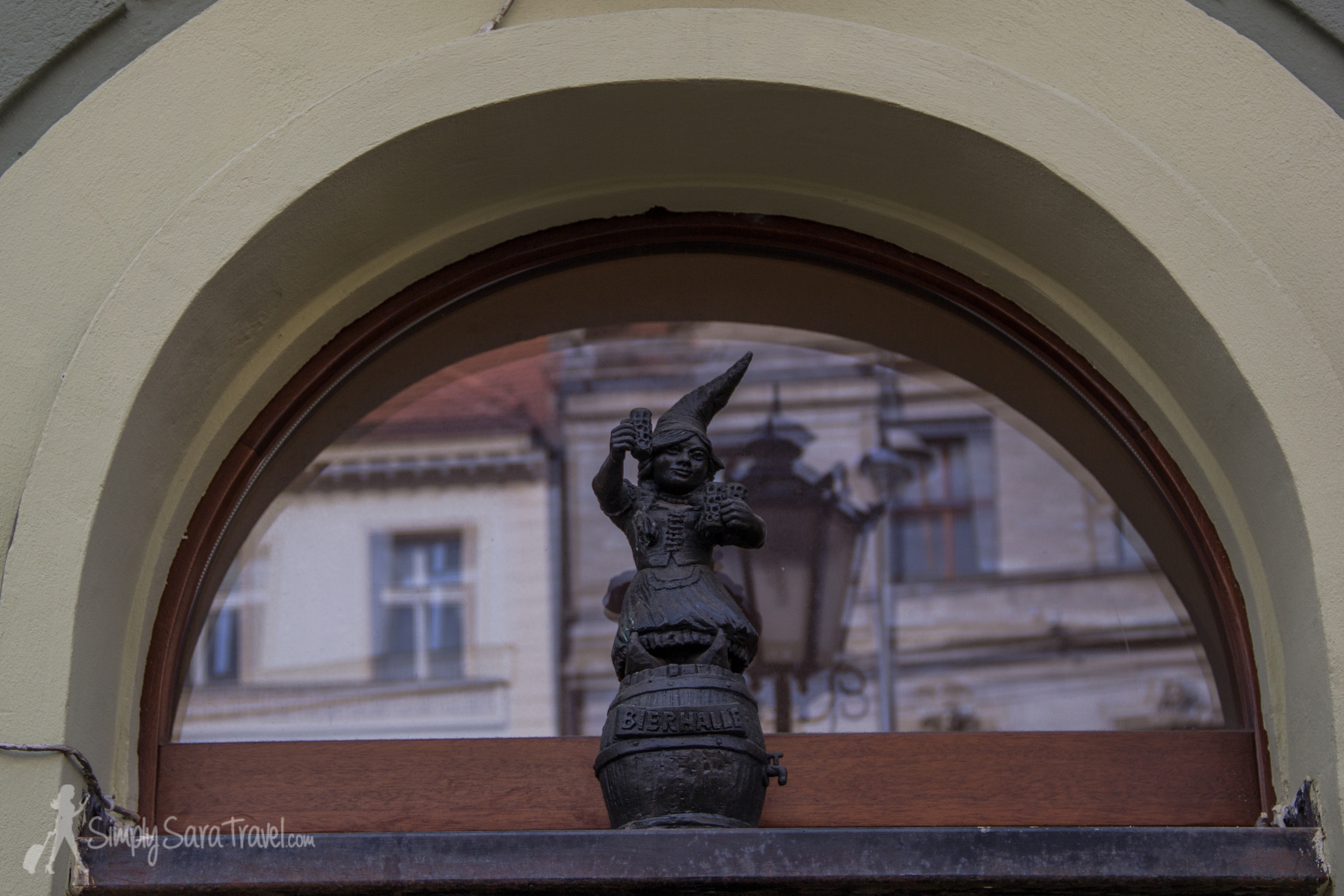 You can't forget to look up in Wroclaw! Found this one over the door of a brewery.