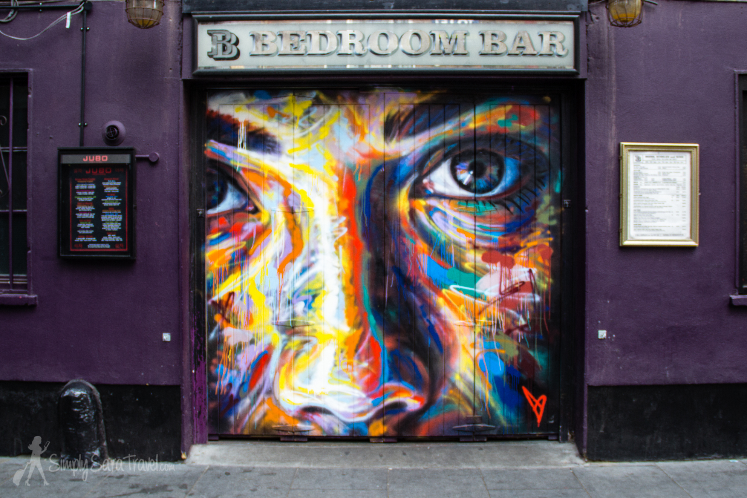 More beautiful street art on Rivington Street