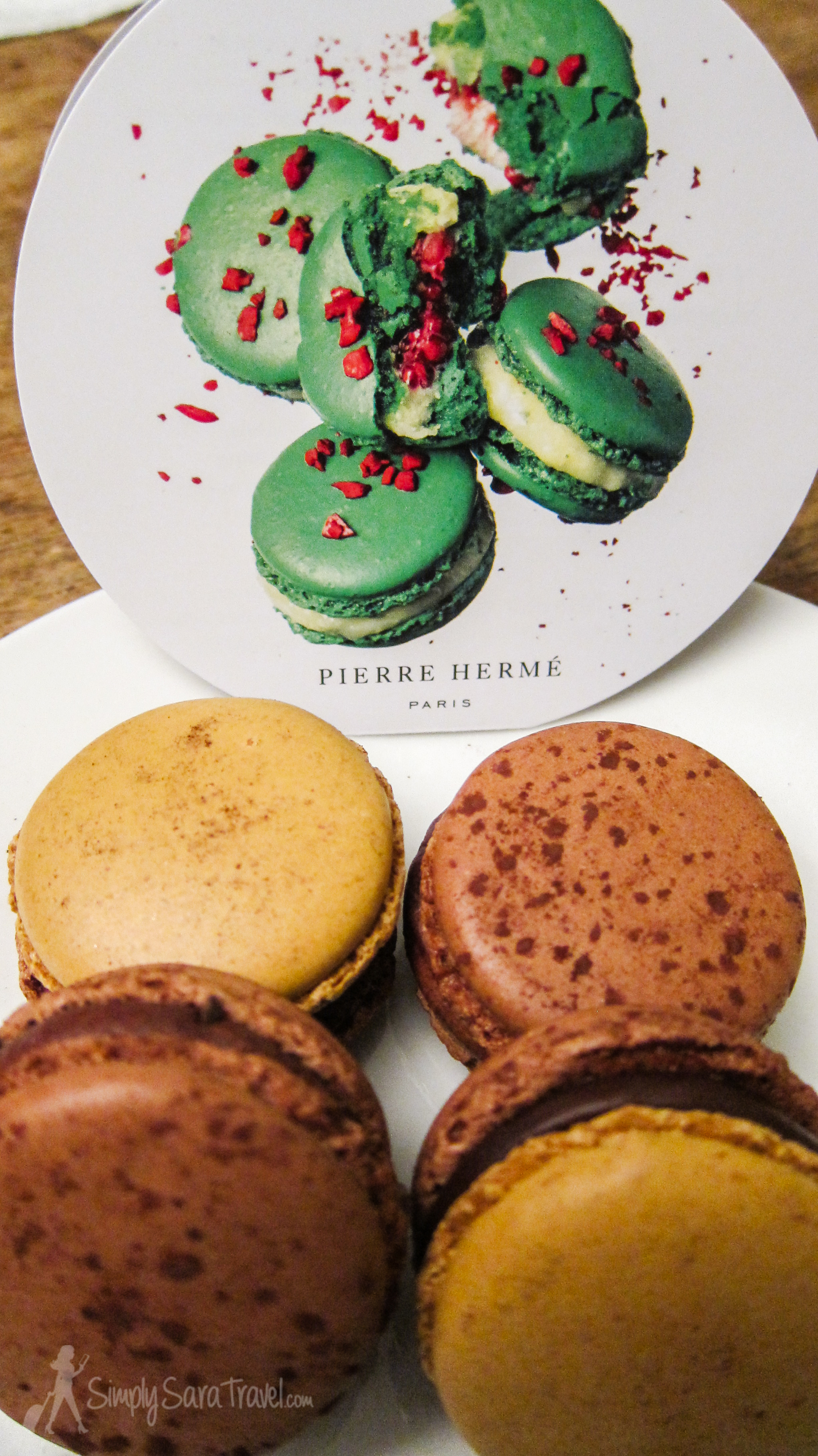 Macarons from Pierre Herme