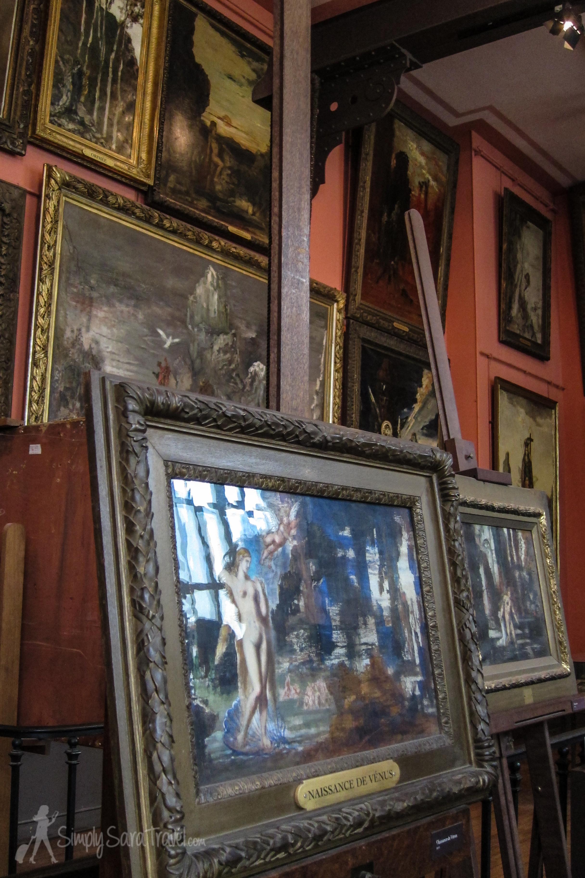 Workshop at the Musée Gustave Moreau, Paris