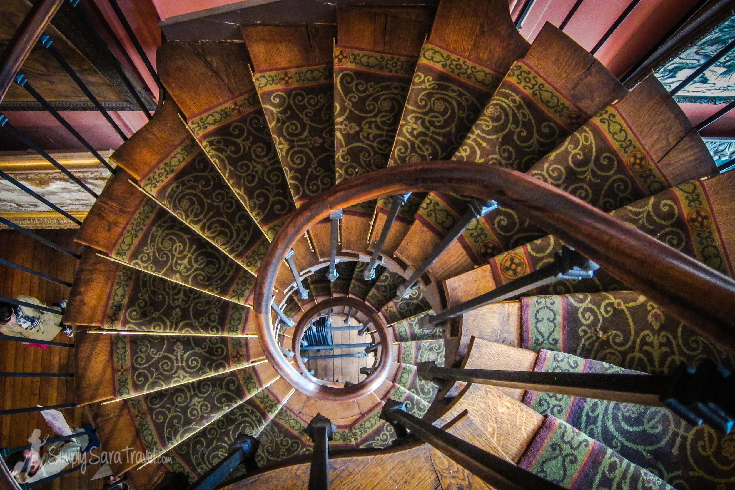 Spiral Staircase at Musée Gustave Moreau, Paris