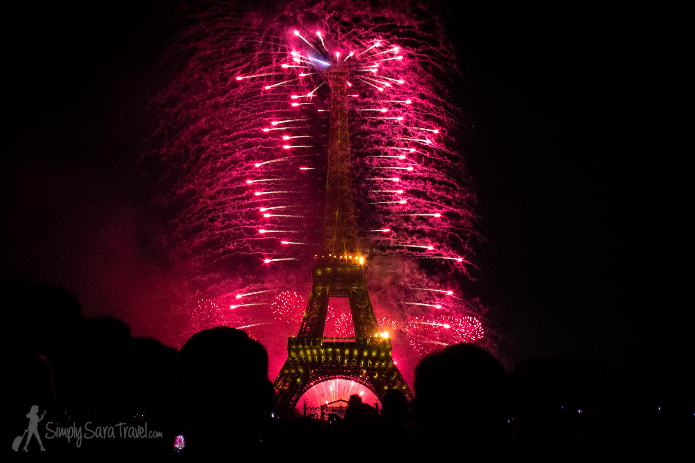 """Bastille Day 2014 Paris, """"War"""" segment"""