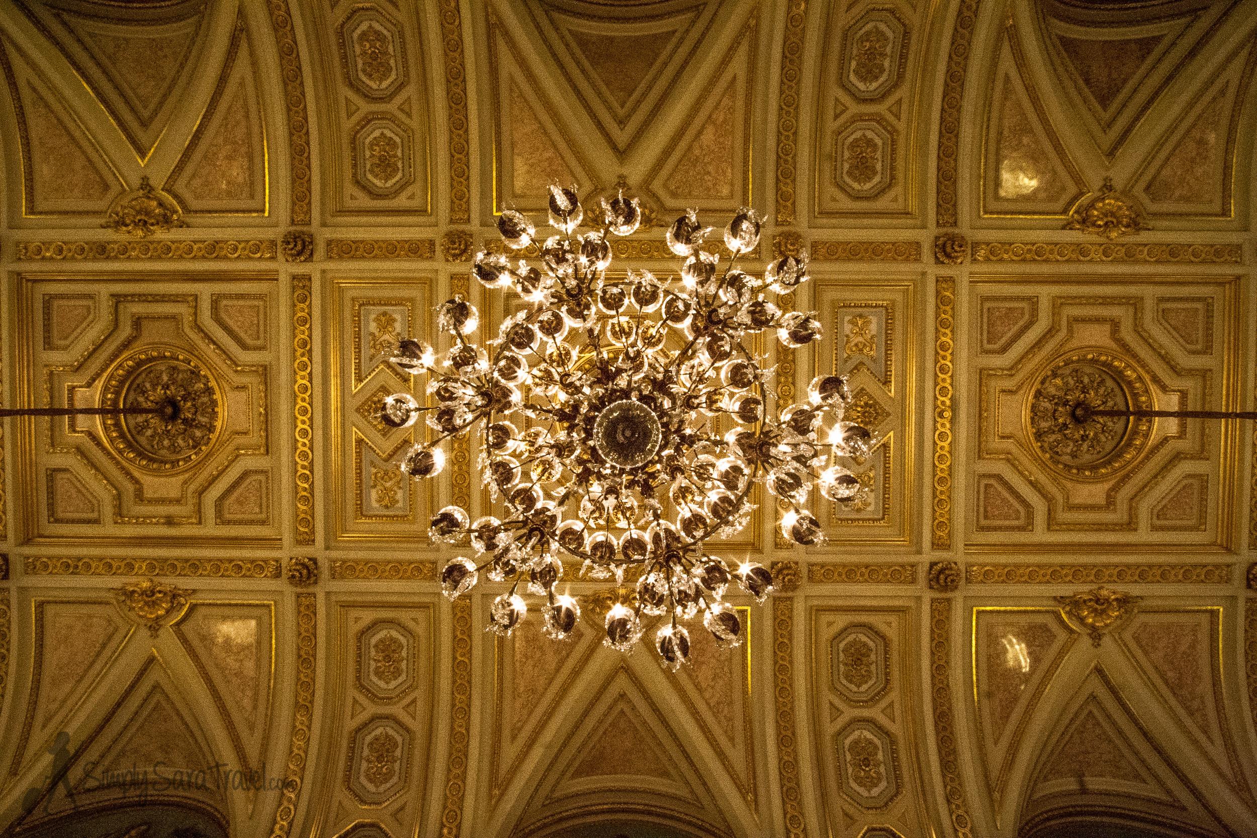 Ceiling of the Galarie des Fetes,Hôtel de Lassay, French National Assembly, Paris
