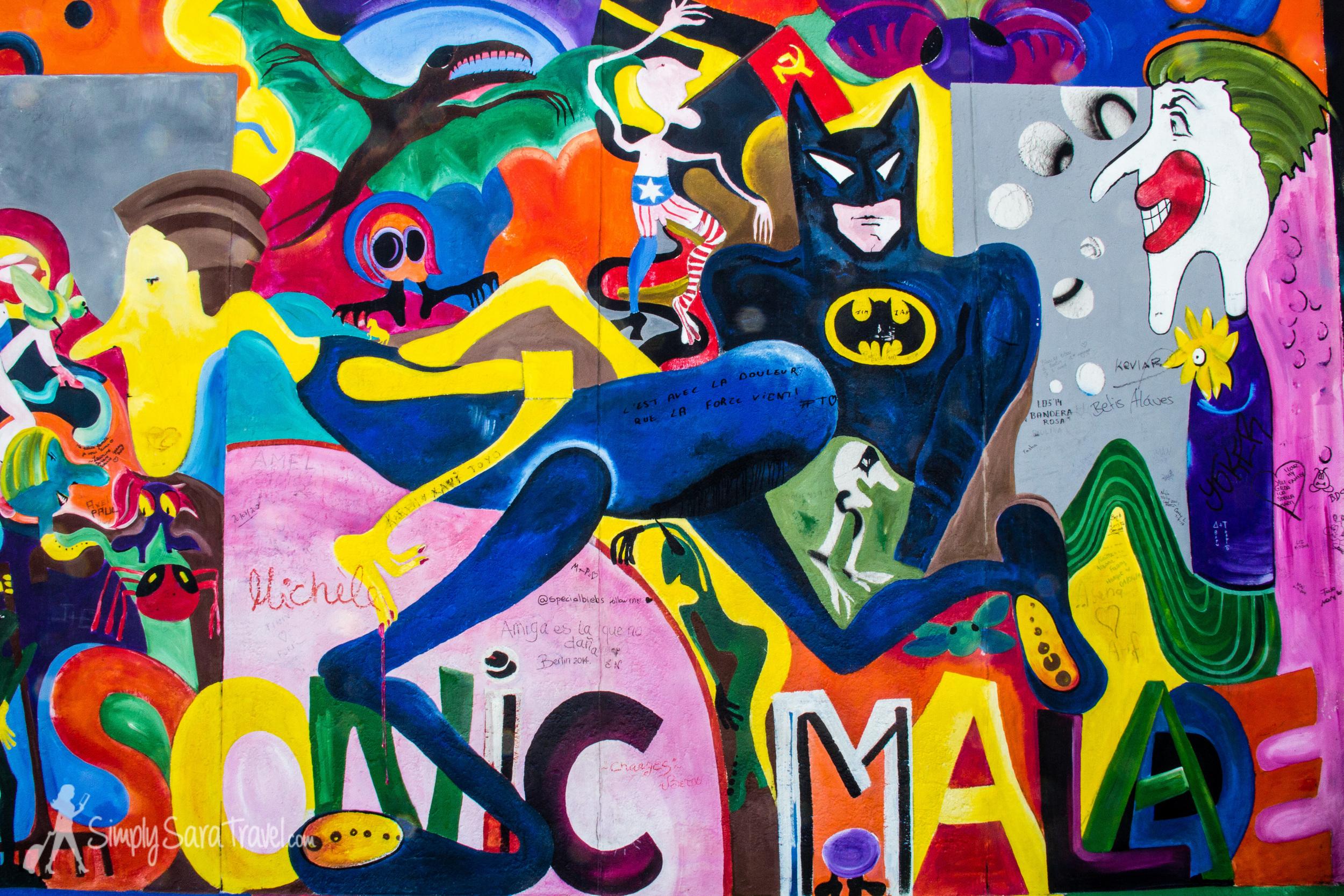 Batman East Side Gallery Berlin